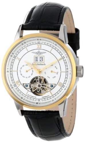 Breytenbach Unisex-Armbanduhr Analog leder schwarz BB8645WG