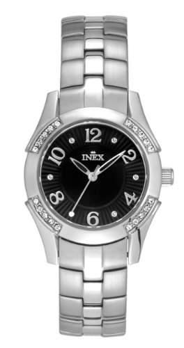 Inex Damen-Armbanduhr Analog Quarz Edelstahl A64134S5I