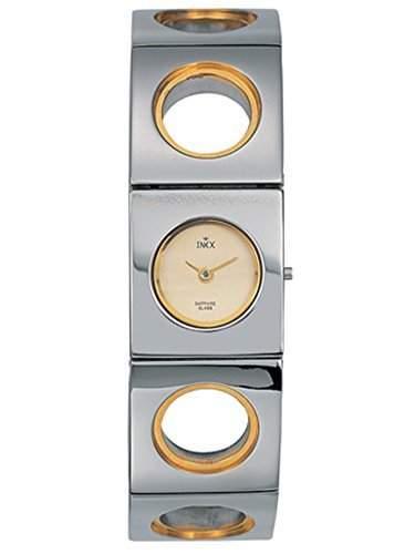 Inex Damen-Armbanduhr Analog Quarz Edelstahl Saphirglas A6915887