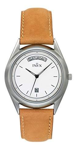 Inex Missinglink Herren-ArmbanduhrAnalog Quarz Leder A118S0I