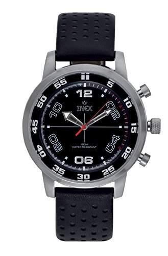 Inex Herren - Armbanduhr Digital Analog Quarz Kalender A60101S5A
