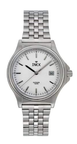Inex Damen - Armbanduhr Analog Quarz Saphirglas 10 bar Kalender A69250S4I