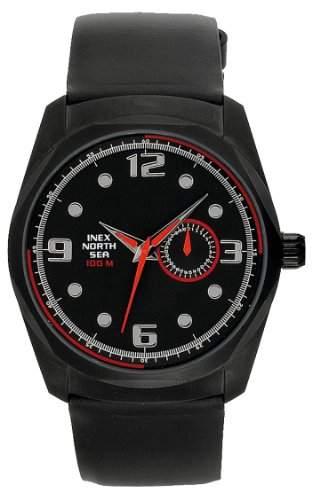 Inex Herren-Armbanduhr Analog Quarz A69283SS5KV - Schraubkrone