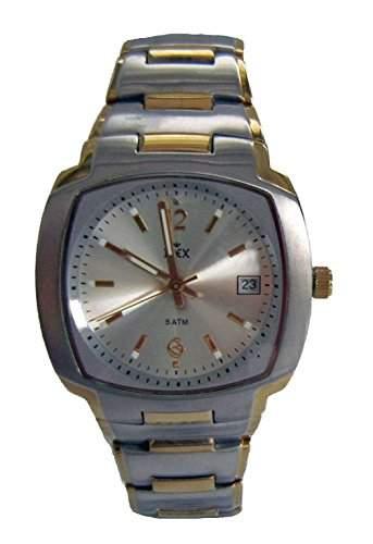 Inex Herren - Armbanduhren Bicolor Analog Quarz Datum A6988B4I