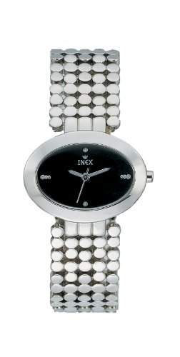 Inex Damen-Armbanduhr Analog Quarz Edelstahl A7420S5KV