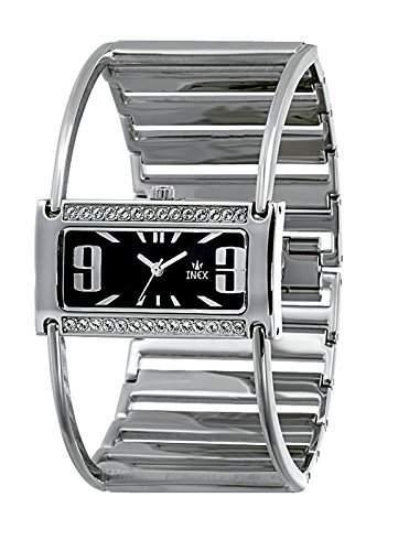 Inex Damen-Armbanduhr Analog Quarz Edelstahl A7457S3I