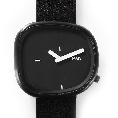 Nava Time Uhr Stone Schwarz Carbon