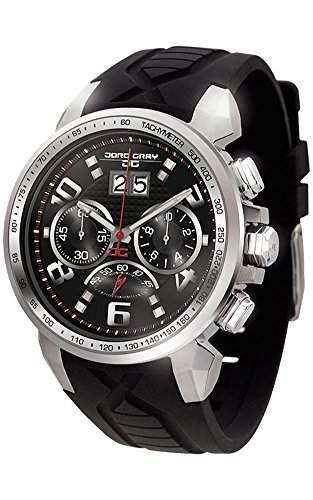 Jorg Gray Herren-Armbanduhr Chronograph Quarz Kautschuk JG5600-21
