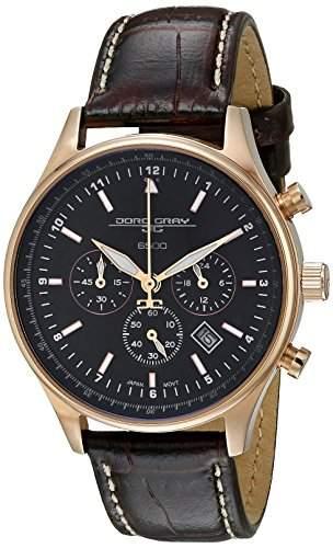 Jorg Gray Damen Armbanduhren Chronograph Quarz Edelstahl JG6500-22