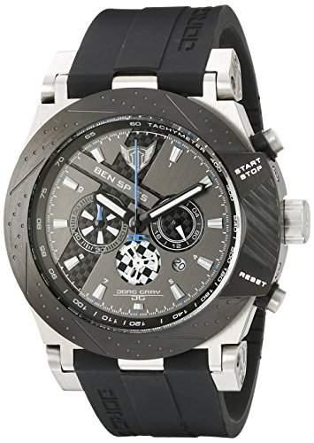 Jorg Gray Herren-Armbanduhr XL Ben Spies Limited Edition Chronograph Silikon JG6700-11