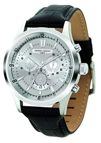 Jorg Gray Herren Armbanduhren Chronograph Quarz Edelstahl JG6800-21