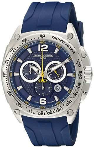 Jorg Gray Herren Armbanduhren Chronograph Quarz Edelstahl JG8400-21