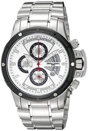 Jorg Gray Herren-Armbanduhr XL Chronograph Edelstahl JG8500-23