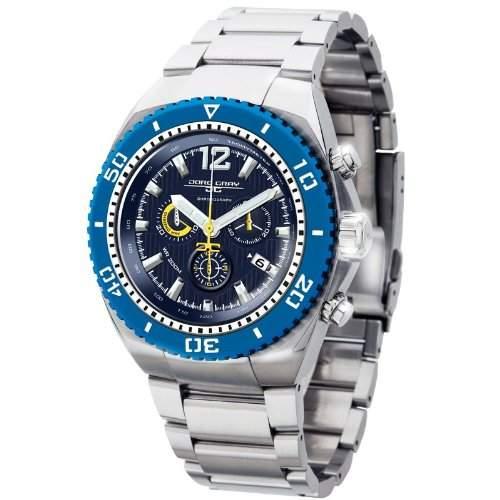 Jorg Gray Herren-Armbanduhr XL Divers Chronograph Edelstahl JG9700-24