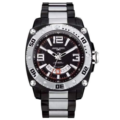Jorg Gray Herren-Armbanduhr Analog Quarz JG9800-23