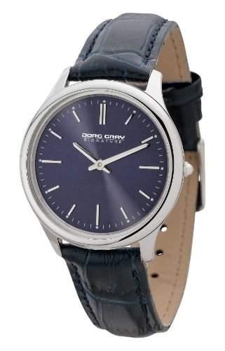 Jorg Gray Damen-Armbanduhr XS Analog Quarz Leder JGS2551