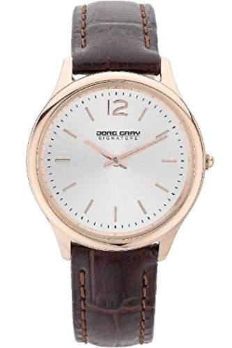 Jorg Gray Damen-Armbanduhr XS Analog Quarz Leder JGS2561