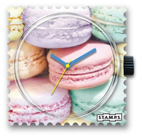 Macarons STAMPS Uhr