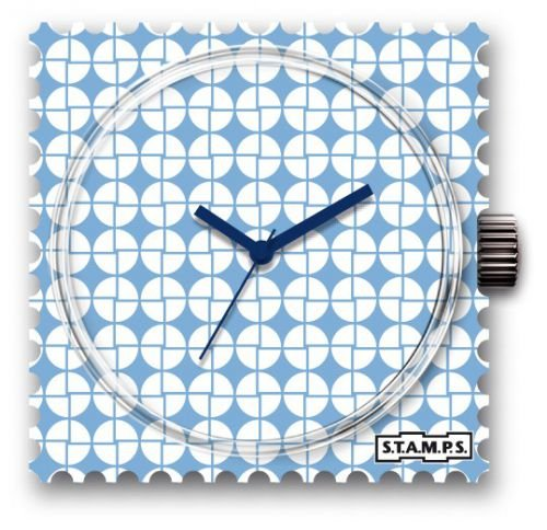 S T A M P S Uhr Frogman wasserdicht Blue Pattern 1511030