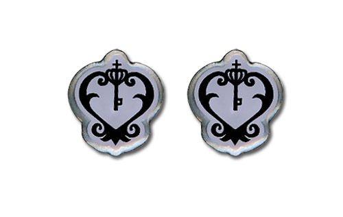 Black Butler SebastianS Armbanduhr Emblem Ohrringes