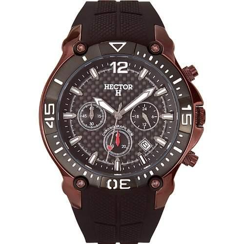 Hector H Herren-Armbanduhr Chronograph Quarz Plastik 665054