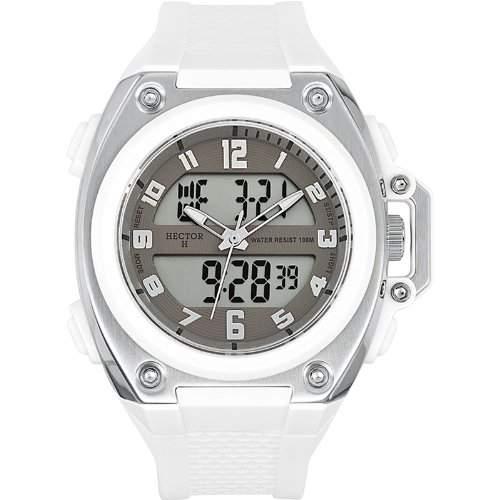 Hector H Herren-Armbanduhr Analog - Digital Quarz Plastik 665236