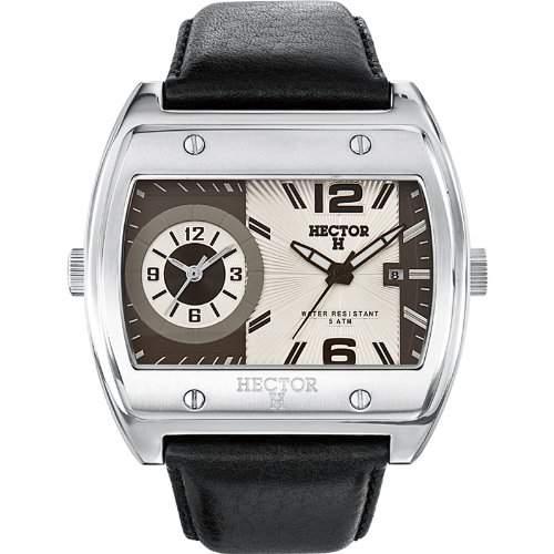 Hector H Herren-Armbanduhr Analog Quarz Leder 665335