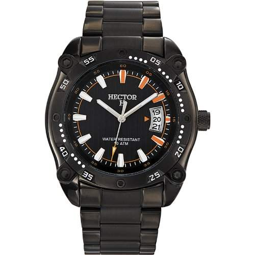 Hector H Herren-Armbanduhr Analog verschiedene Materialien 667022