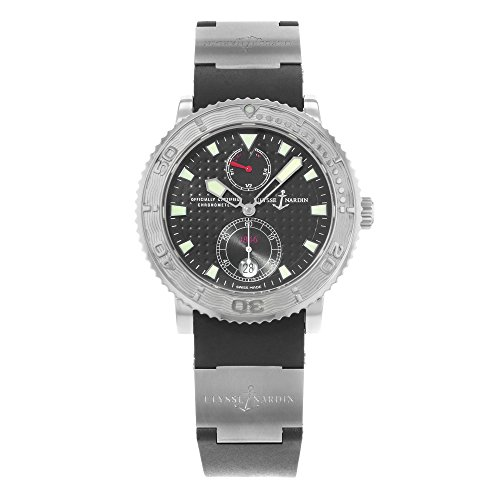 Ulysse Nardin Marine Diver 263 55 3 92 Edelstahl Automatik Herren Armbanduhr