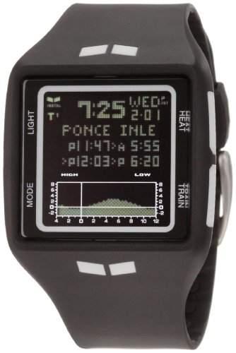 Vestal Unisex-Armbanduhr The Brig Digital Kunststoff schwarz BRG002