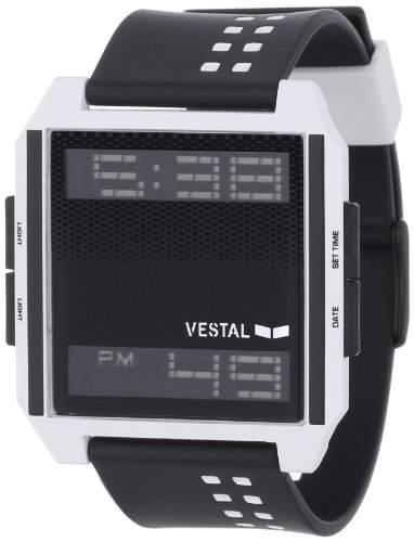 Vestal Herren-Armbanduhr Digichord Digital Kunststoff schwarz DIG009