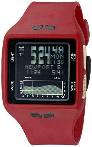 Vestal Unisex brgold04 Brig Digital Display Quarz rot Armbanduhr