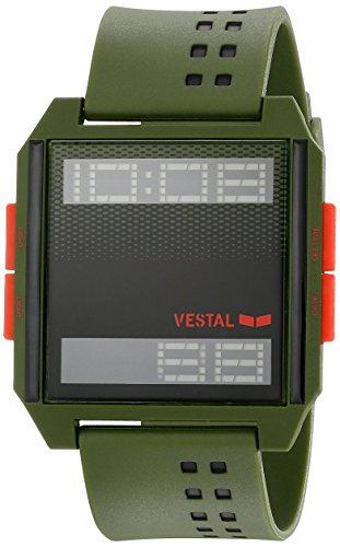 Vestal dig035 Digichord Watch Army Orange