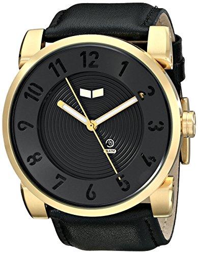 Vestal dop014 Doppler Armbanduhr schwarz gold schwarz