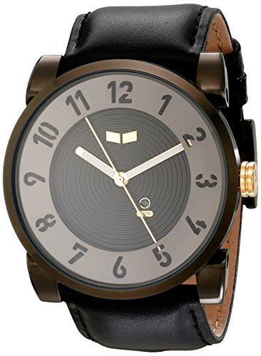 Vestal dop015 Doppler Armbanduhr Schwarz Gun Gold
