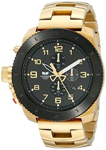 Vestal res013 Tuerriegel Uhr Gold Schwarz