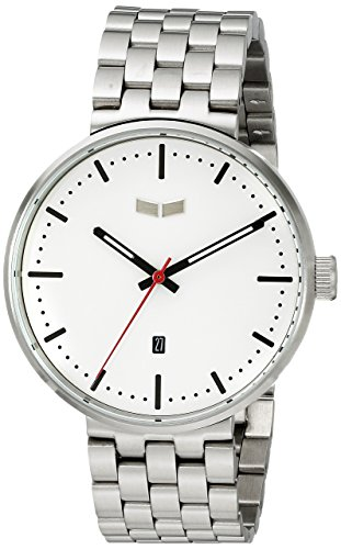 Vestal ros3 m003 Roosevelt Metall Armbanduhr Silber Weiss