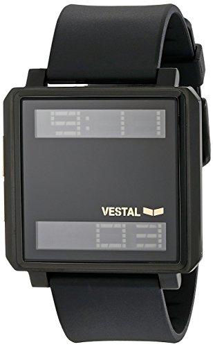 Vestal tradr06 Riegel Armbanduhr Schwarz Gold