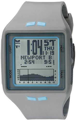 Vestal Unisex brg031 Brig Digital Gray Surf Armbanduhr