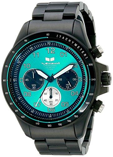 Vestal zr2026 ZR2 Armbanduhr Schwarz Blaugruen