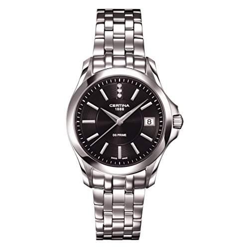 Certina Damen-Armbanduhr XS Analog Quarz Edelstahl C0042101105600