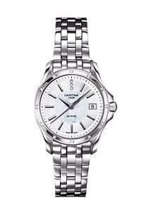 Certina Damen-Armbanduhr XS Analog Quarz Edelstahl C0042106111600