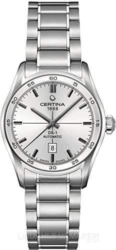Certina Damen-Armbanduhr XS Analog Automatik Edelstahl C0062071103100
