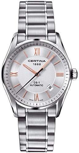 Certina Herren-Armbanduhr XL Analog Automatik Edelstahl C0064071103801