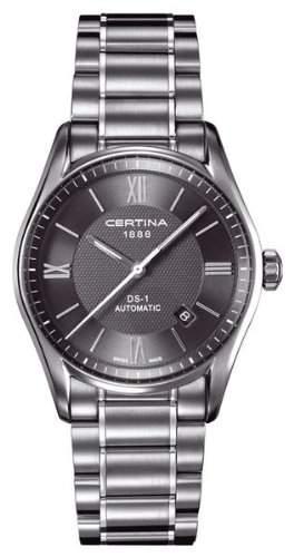 Certina Herren-Armbanduhr XL Analog Automatik Edelstahl C0064071108800