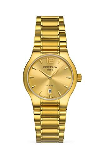 Certina Damen-Armbanduhr XS Analog Quarz Edelstahl C0122093302700