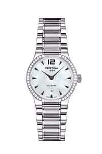 Certina Damen-Armbanduhr XS Analog Quarz Edelstahl C0122096111700