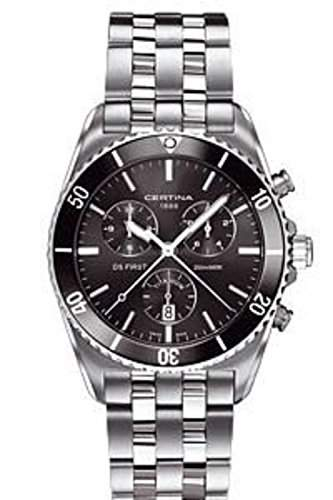 Certina Herren-Armbanduhr XL Chronograph Quarz Titan C0144174408100