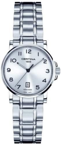 Certina Damen-Armbanduhr XS Analog Quarz Edelstahl C0172101103200