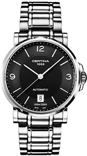 Certina Herren-Armbanduhr XL Analog Automatik Edelstahl C0174071105700